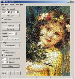 Photo Jumble - An easy way to assemble multiple photos on one page.