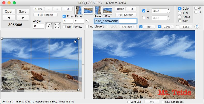 Click 2 Crop for macOS - Easy crop tool.